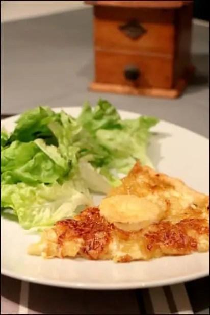 tarte à l'oignon fromage de chevre
