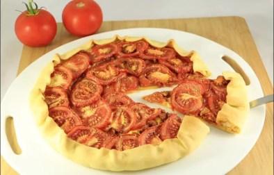 tarte au thon à la tomate et moutarde