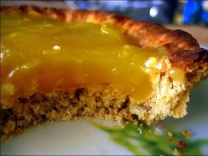 tarte citron healthy