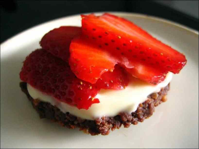 tartelettes fraises speculoos