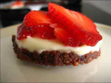 tartelettes fraises mascarpone speculoos