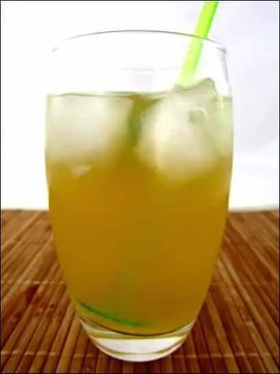 punch thé vert rhum