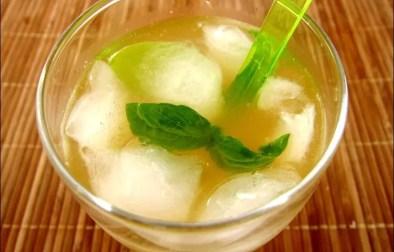 thé-punch au basilic