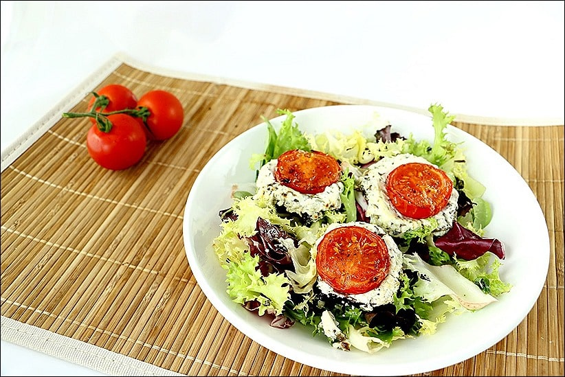 aubergine au chevre frais