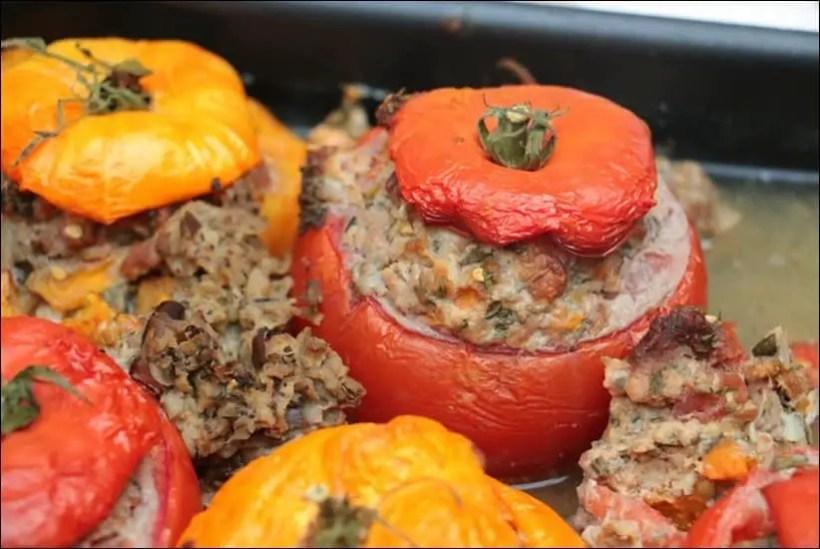 recette tomates farcies agneau