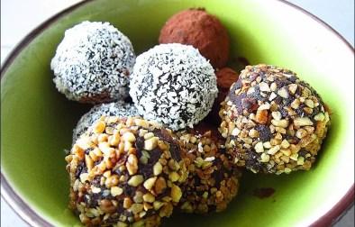truffes au chocolat de Trish Deseine
