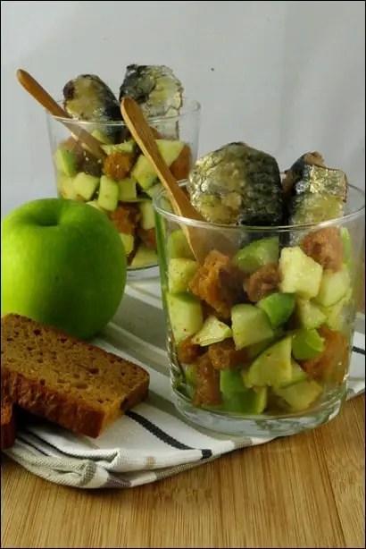 sardine à la pomme verte
