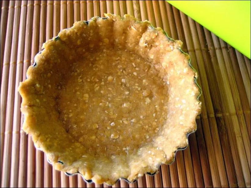fond de tarte healthy pour tartes sucrées