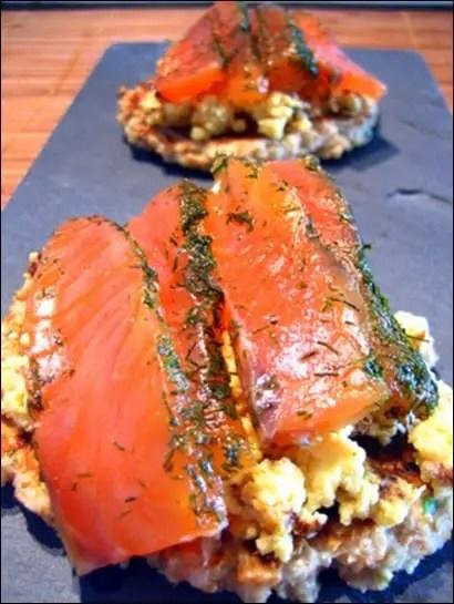 blinis saumon maison