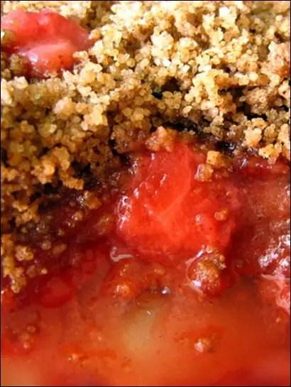crumble fraises facile