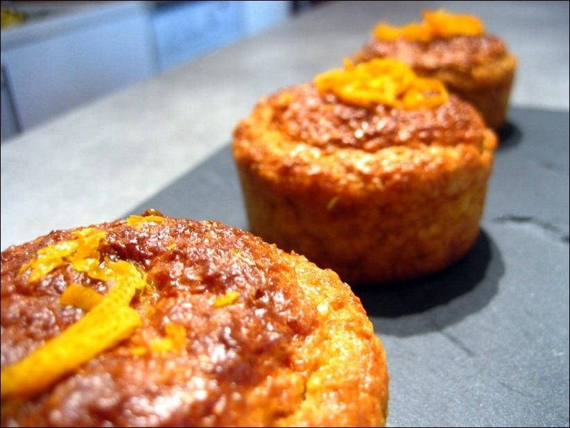 muffin orange gingembre healthy