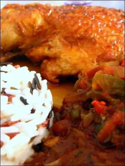 poulet basquaise cocotte