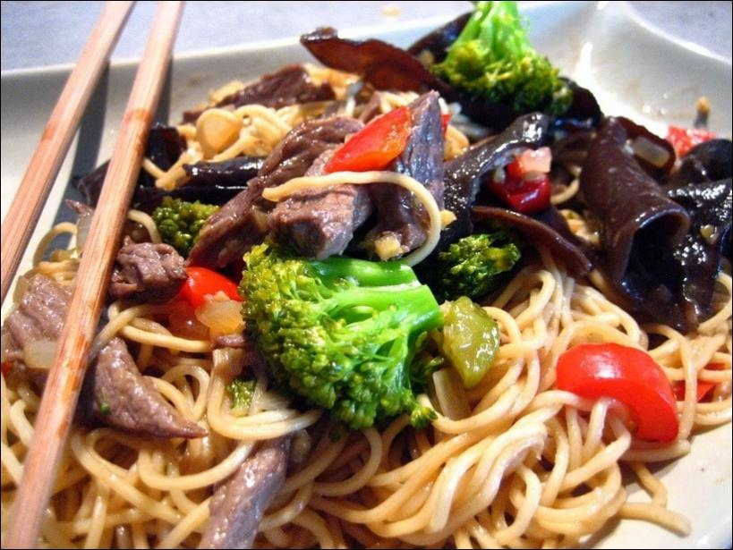 boeuf sauté wok