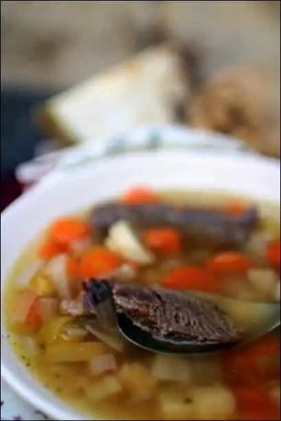 soupe boeuf légumes