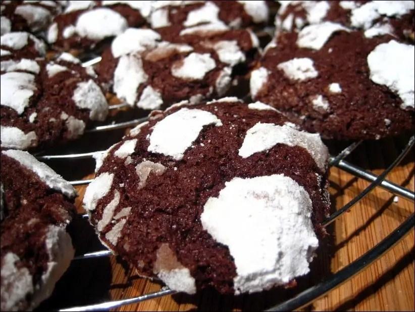 biscuits craquelés chocolat martha stewart