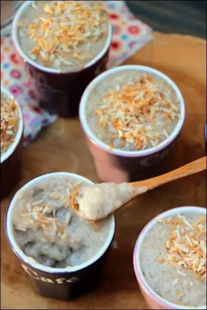 recette tapioca au coco