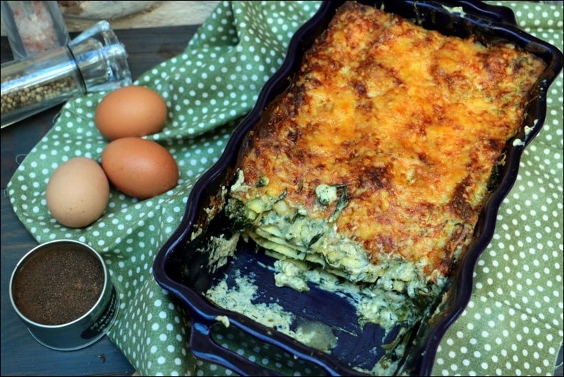 lasagnes vege epinards lignac