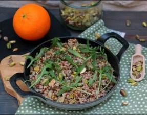 riz rouge de Camargue et quinoa à l'orange et aux pistaches de Yotam Ottolenghi