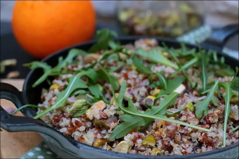 riz quinoa recettes
