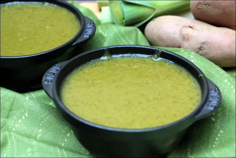 soupe de poireaux originale