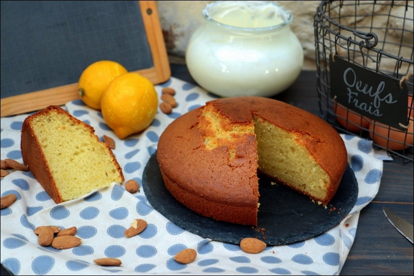 gâteau au yaourt à l'amande