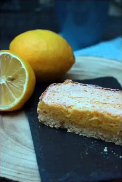 tarte sablée moelleux citron