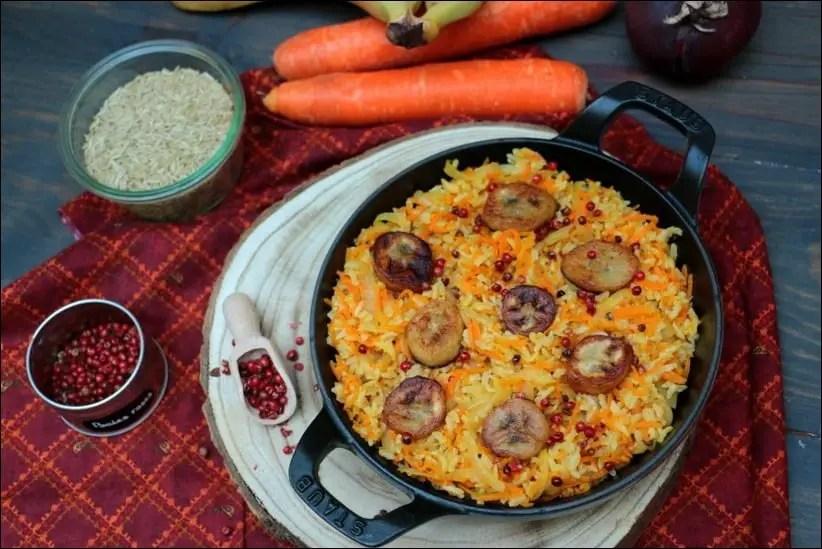 poelee riz exotique