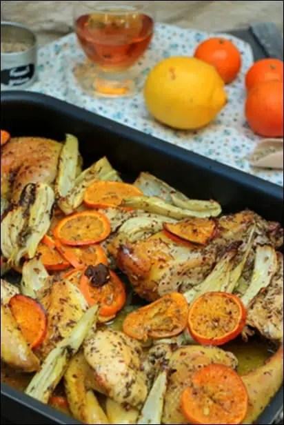poulet fenouil pastis