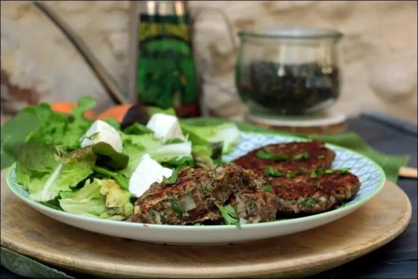 steak lentilles