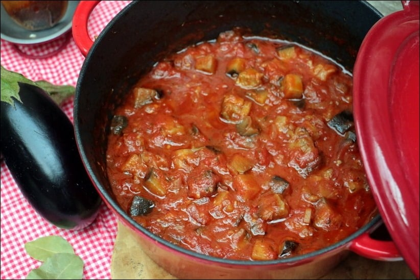 riste d'aubergine a la provencale