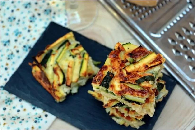 galette de courgette à l'italienne