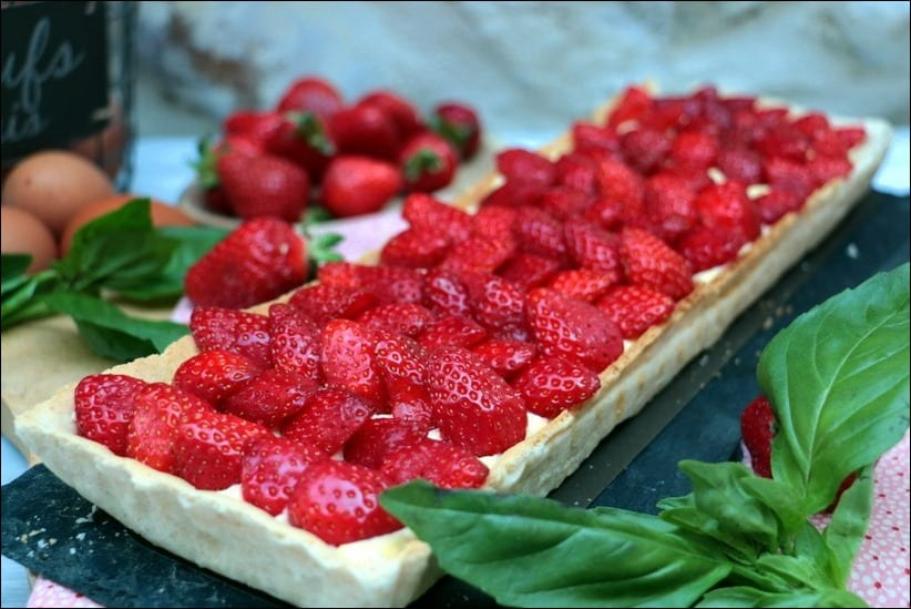 tarte fraise grand chef