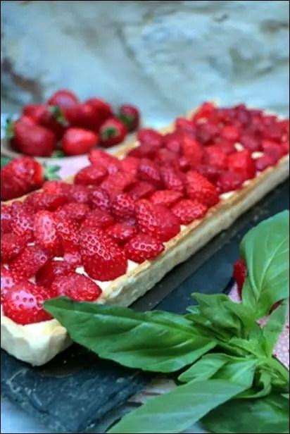 tarte fraise lignac