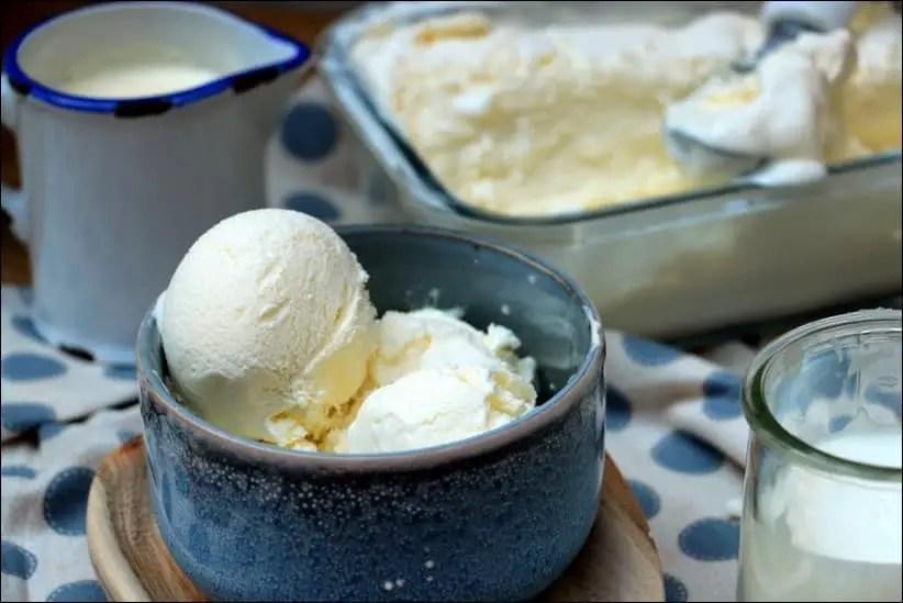 glace yaourt à la grecque