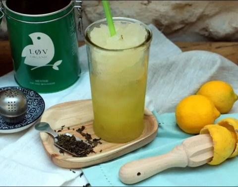 granithé slush au thé glacé