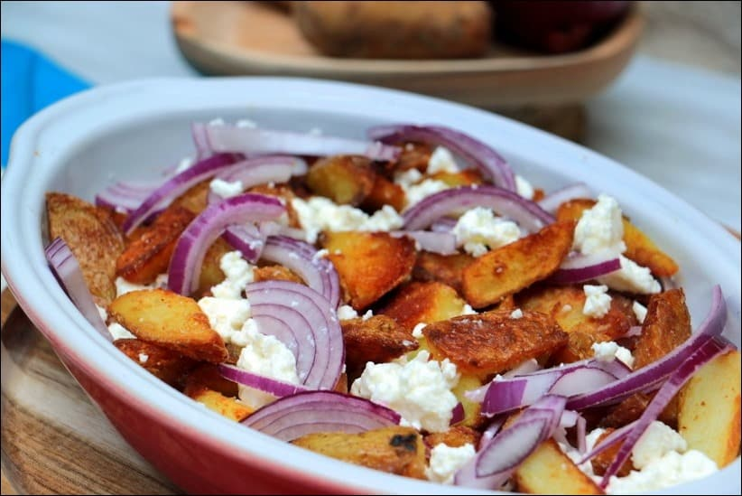 recette pomme de terre et feta