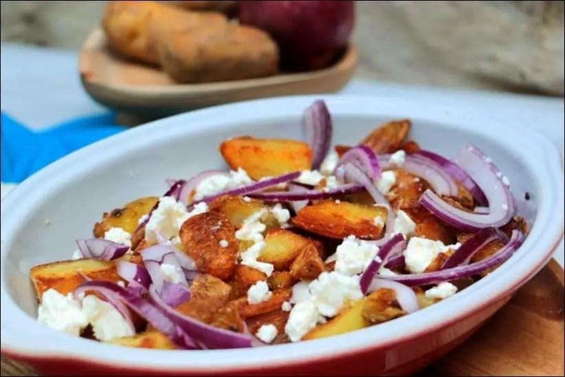 pommes de terre sautées aux oignons