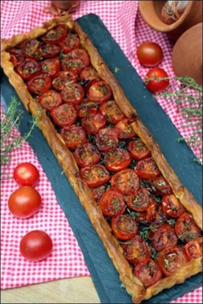 tarte a la tomate pate feuilletée
