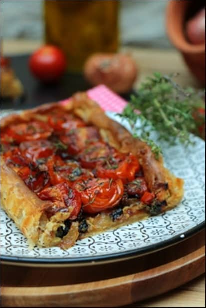 tarte tomate thym