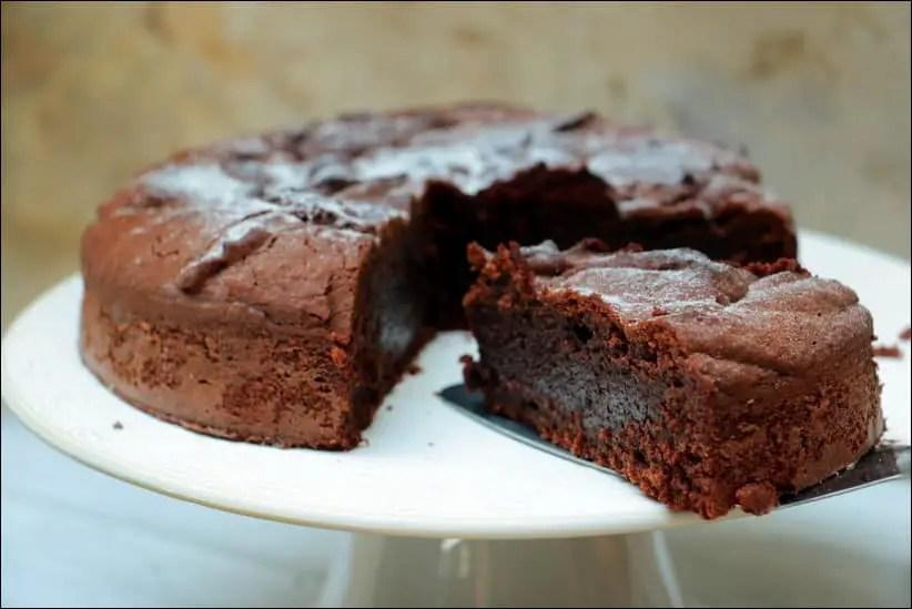 torta caprese chocolat amande torrefiee