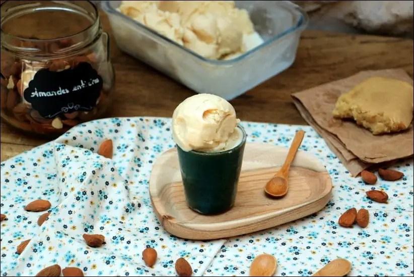 creme glacée amande