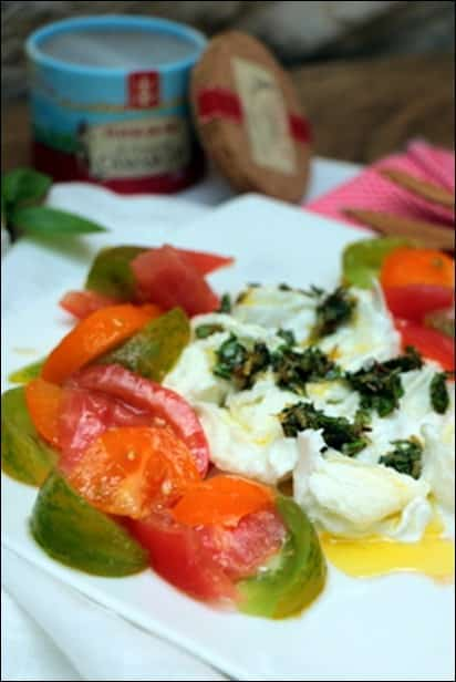 tomate mozzarella origan
