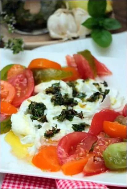 salade caprese originale