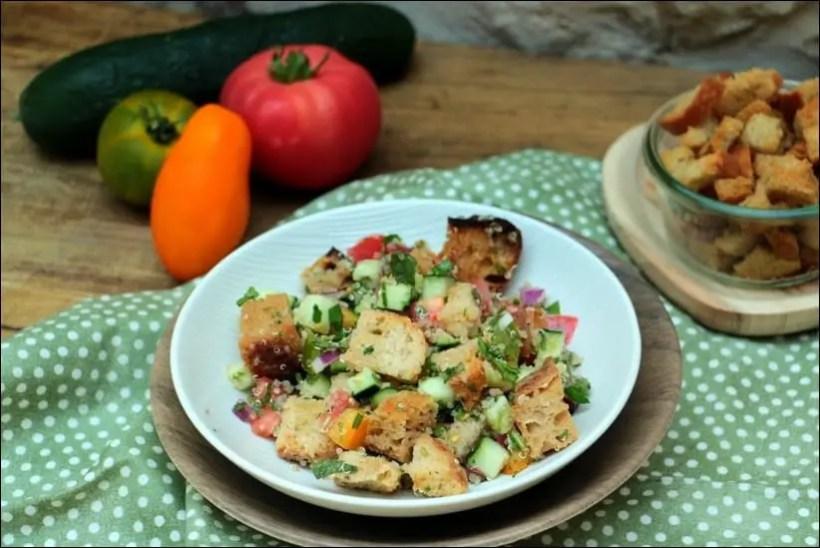 salade quinoa concombre