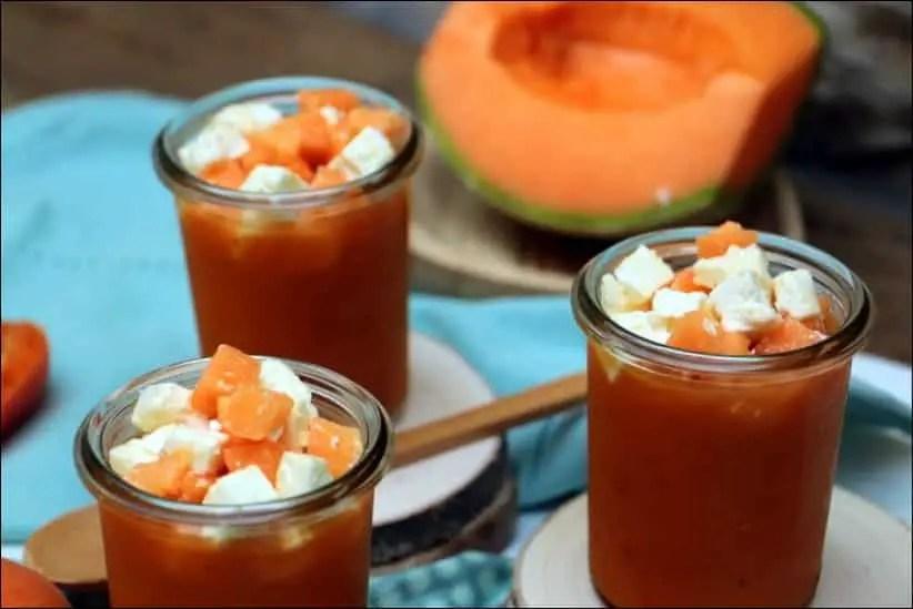 gaspacho de melon facile