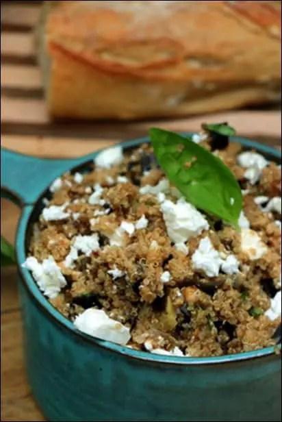 salade quinoa basilic