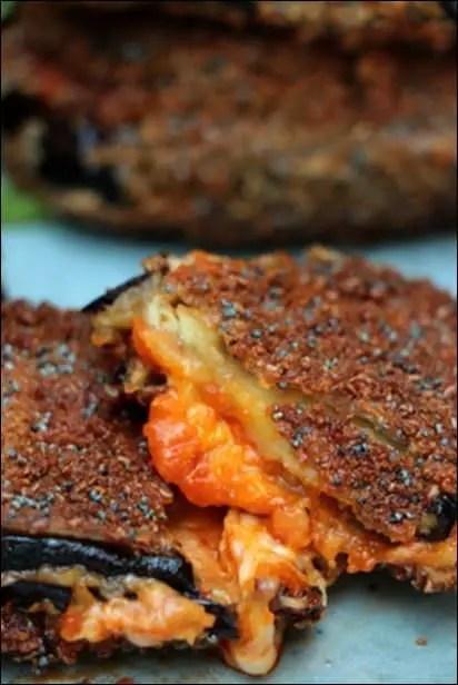aubergine mozzarella et sauce tomate