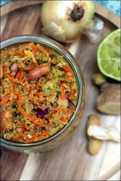 taboulé quinoa rapide