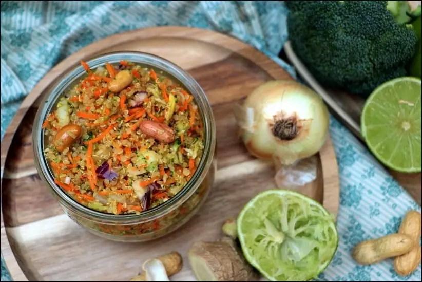 taboulé quinoa healthy