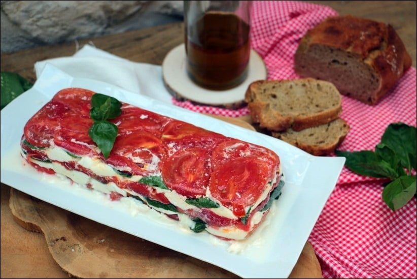 terrine tomate fromage